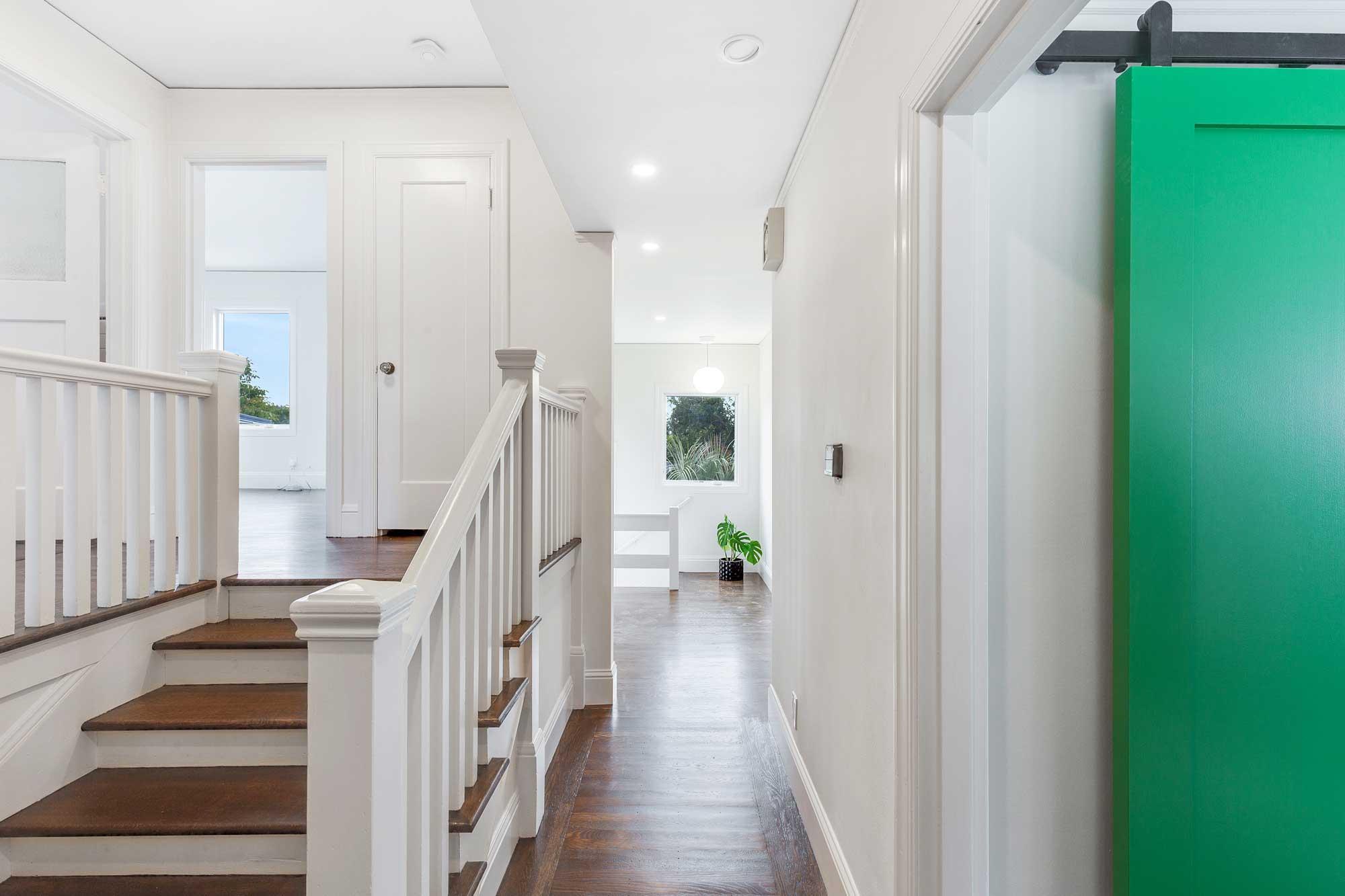remodern Mod Mediterranean hallway